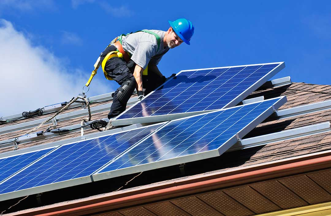 Solar installation is one of the options that we can recommend for you.